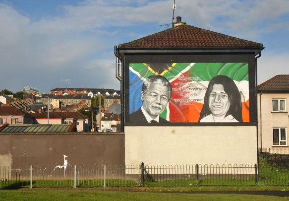 mural with Nelson Mandela