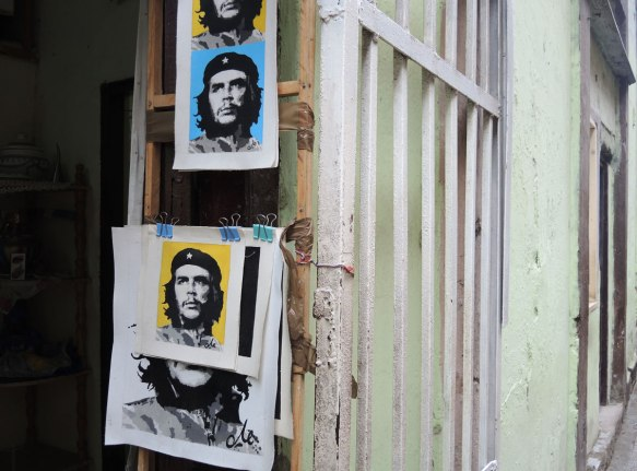 many poster of Che Guevera