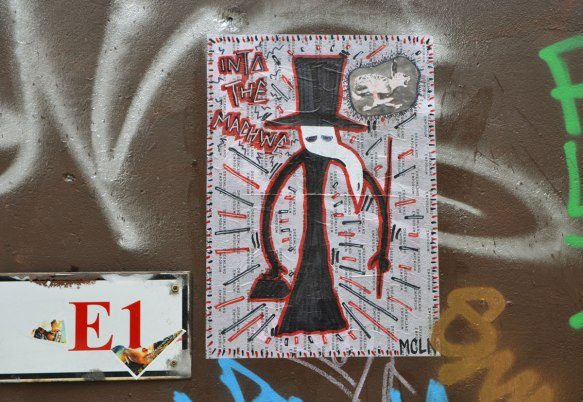 a mcln plague doctor paste up