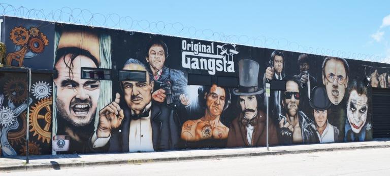 original gangsta mural