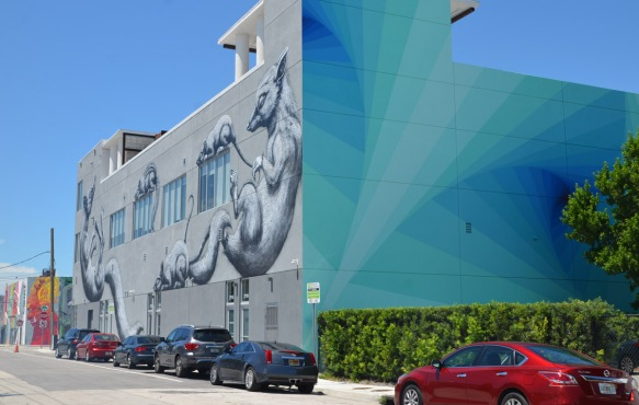 ROA mural in Wynwood