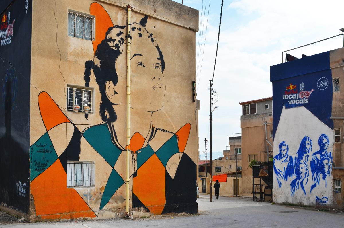 large murals in Amman