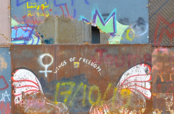 wings of freedom graffiti